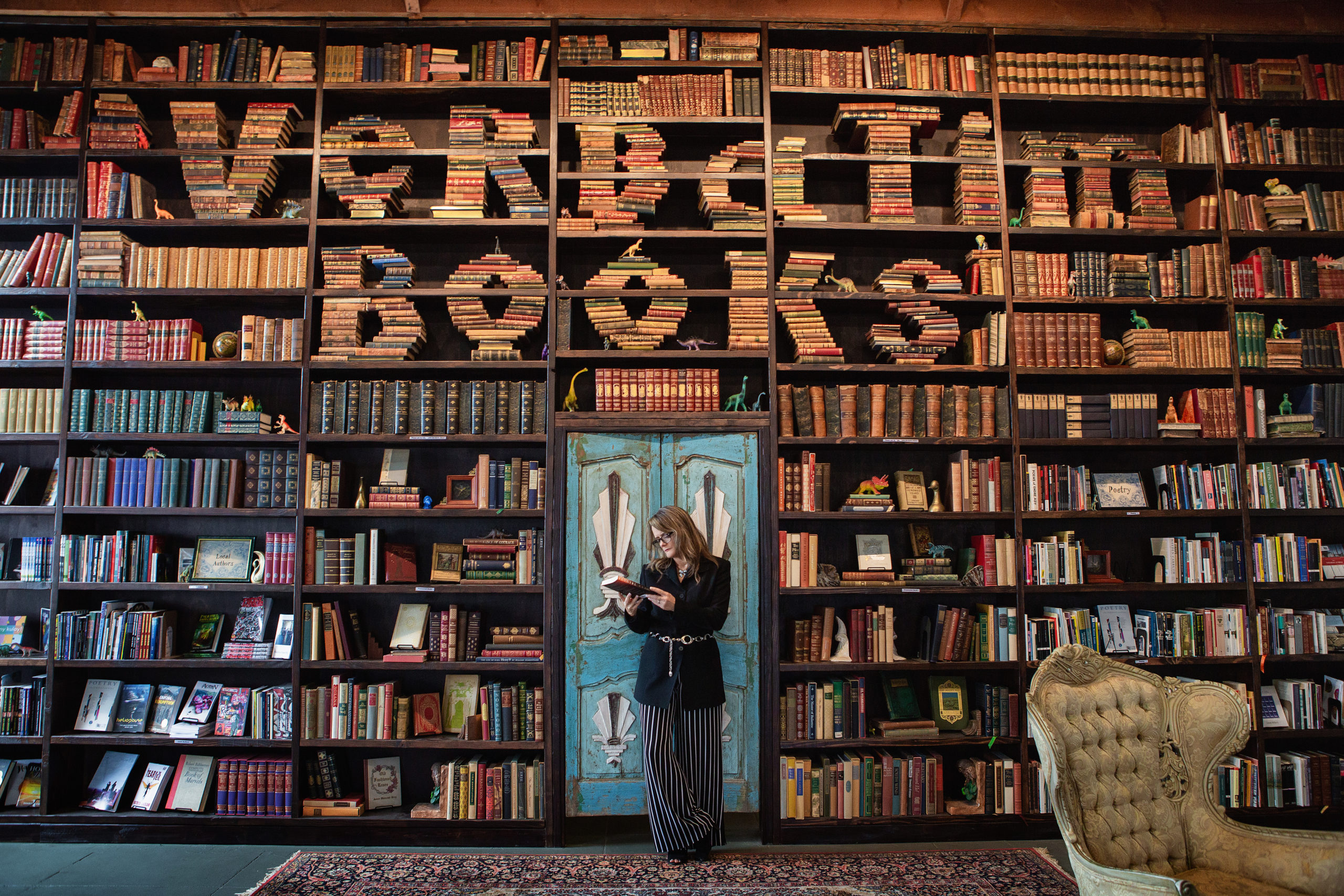 San Diego's Verbatim books