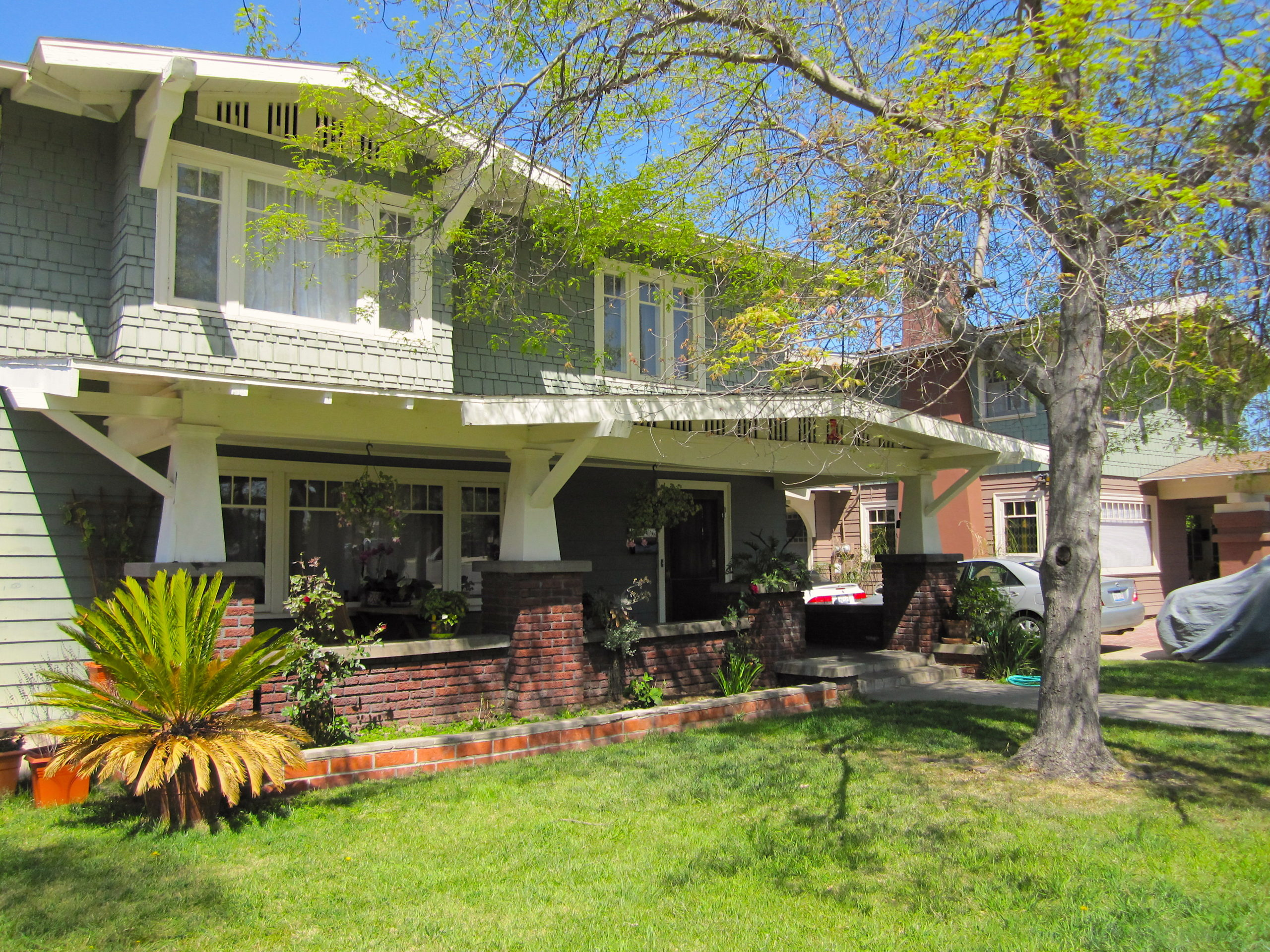 Craftsman style home in Dryden Historic District