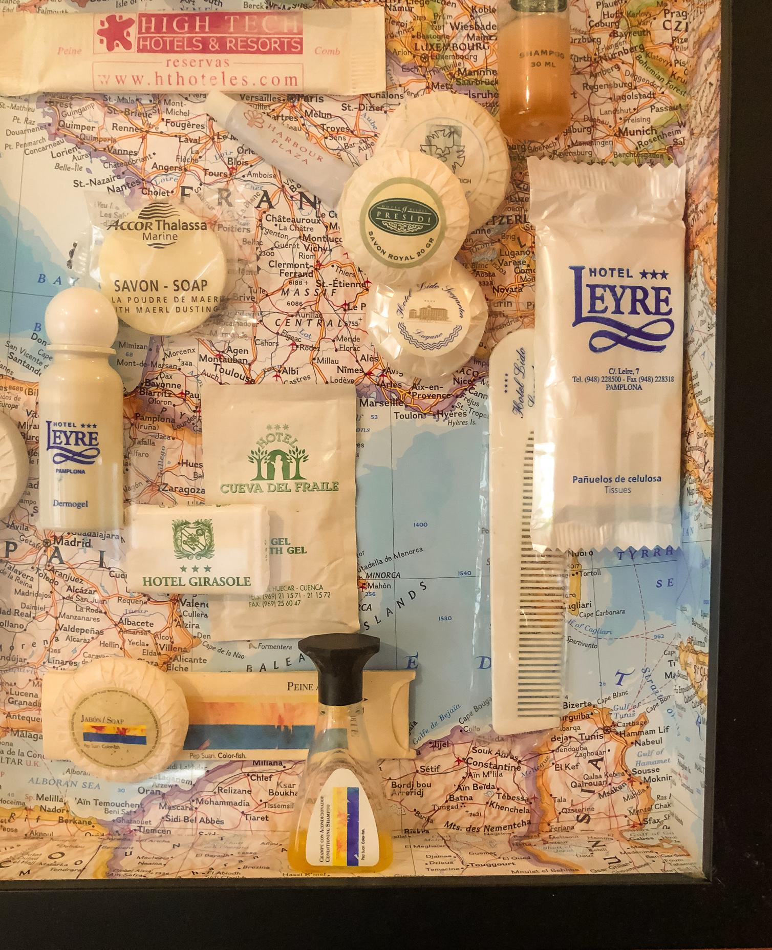 Hotel souvenir toiletries