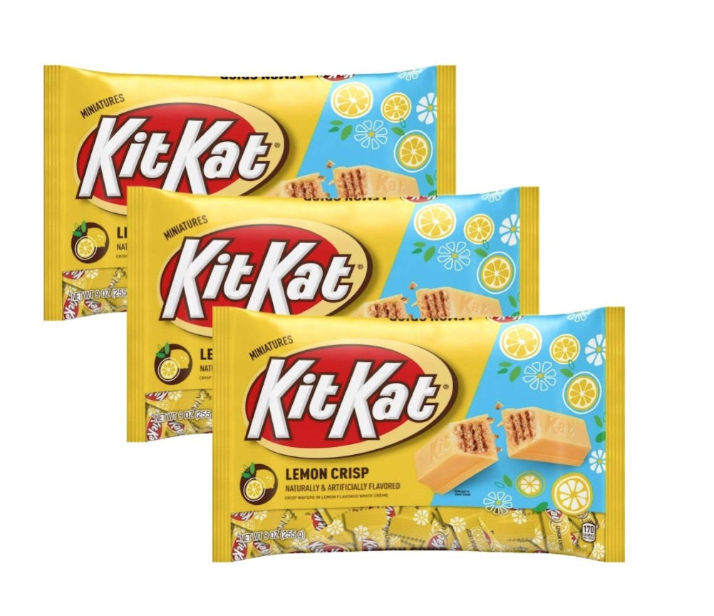 Lemon Kit Kat candy