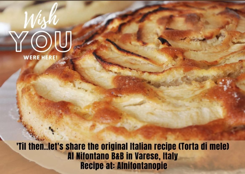 Italian Inn apple pie toart