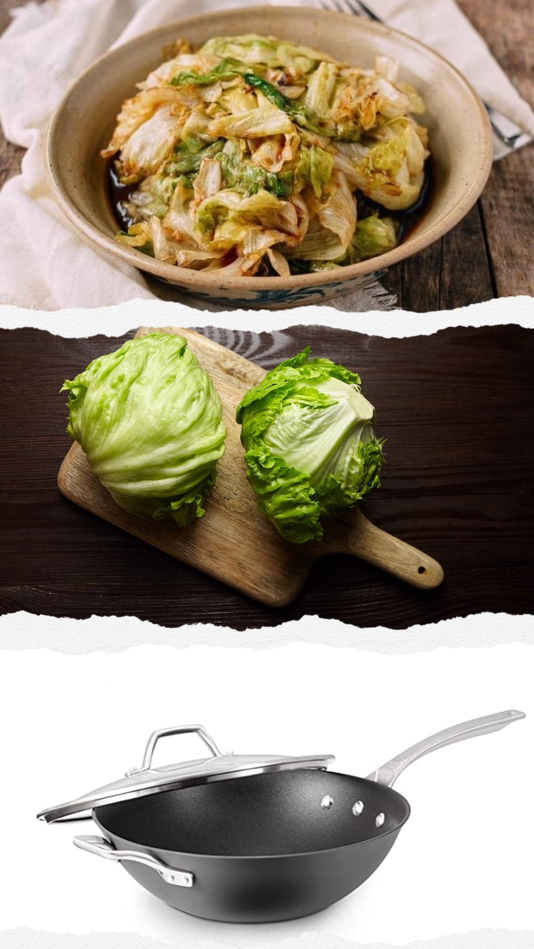 stir-fried lettuce The Woks of Life