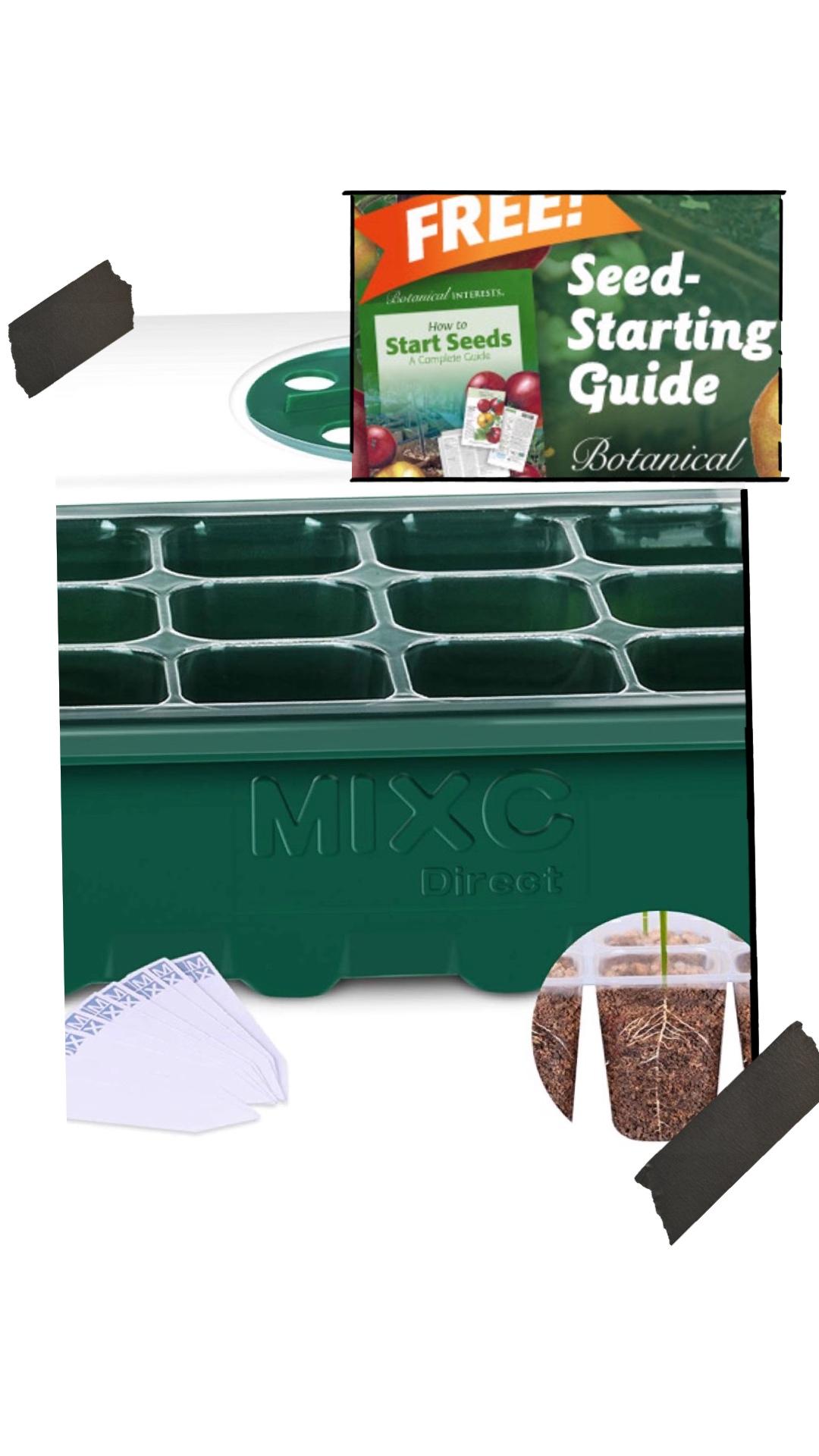 Seed starter spring tips